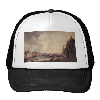 Entrance To The Grand Canal Looking East Canaletto Trucker Hat