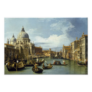Entrance to the Grand Canal Poster