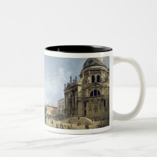 Entrance to the Grand Canal Two-Tone Coffee Mug