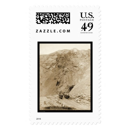 Entrance to the Great Homestake Mine SD 1888 Postage Stamps