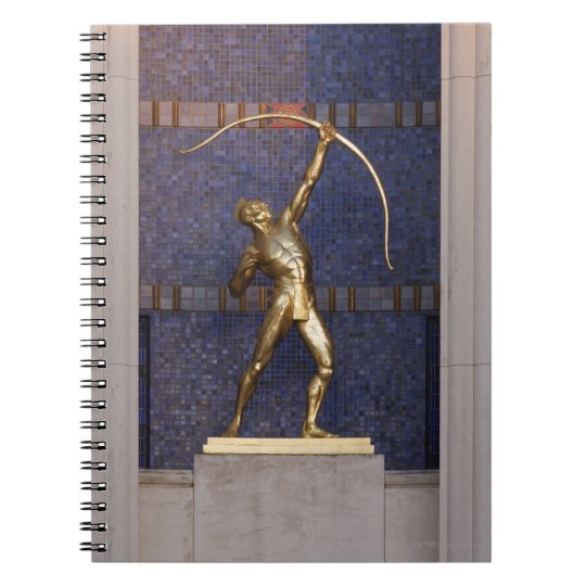 Entrance to the Hall of State Notebook
