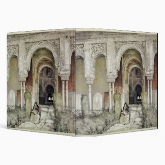 Entrance to the Hall of the Two Sisters (Sala de l 3 Ring Binder