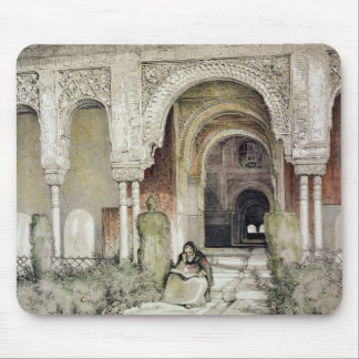 Entrance to the Hall of the Two Sisters (Sala de l Mouse Pad