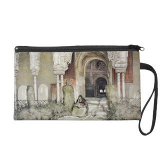 Entrance to the Hall of the Two Sisters (Sala de l Wristlet Purse