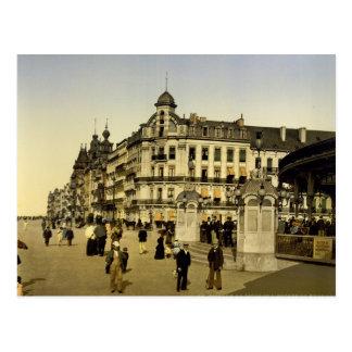 Entrance to the Kursaal Ostend Belgium Postcard
