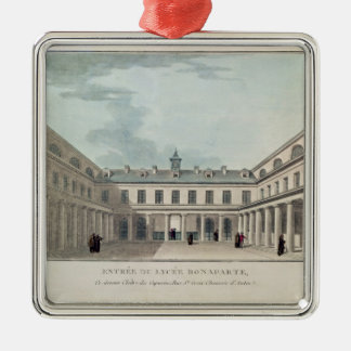 Entrance to the Lycee Condorcet Christmas Tree Ornament