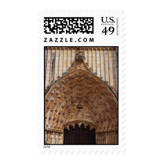 Entrance to the Monastery of Batalha, Portugal Postage