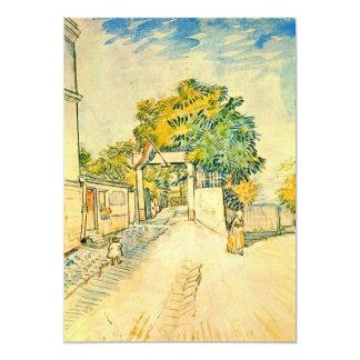 Entrance to the Moulin de la Galette by van Gogh Announcement