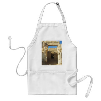 Entrance to The Oracle of Amon - Siwa Oasis Adult Apron