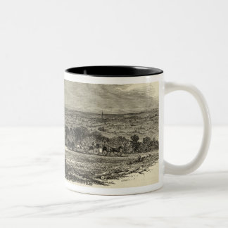 Entrance to the Park, Goodwood Two-Tone Coffee Mug