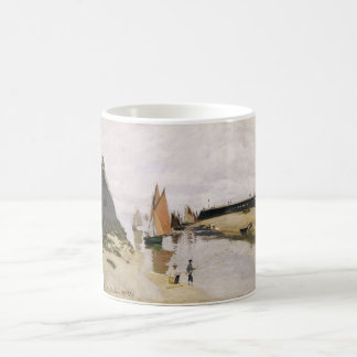 Entrance to the Port of Trouville (1870) Coffee Mug
