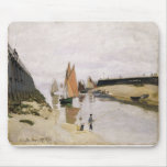 Entrance to the Port of Trouville (1870) Mouse Pad