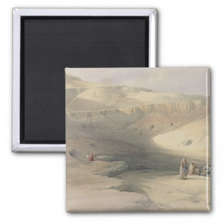 Entrance to the Valley of the Kings 2 Inch Square Magnet