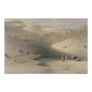 Entrance to the Valley of the Kings Print