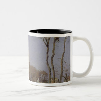 Entrance to the Village of Voisins Two-Tone Coffee Mug