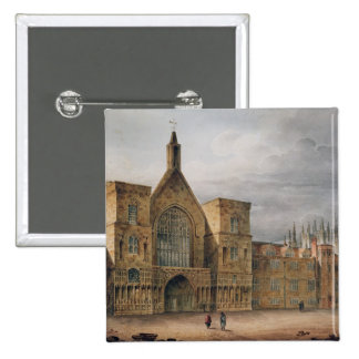 Entrance to Westminster Hall, 1807 Button