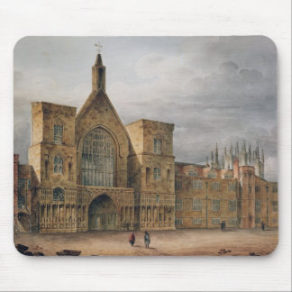 Entrance to Westminster Hall, 1807 Mouse Pad
