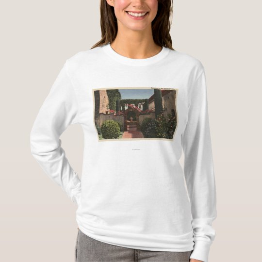 Entrance View of the Sacred Garden T-Shirt