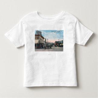 Entrance View to US Navy Ship Yard Toddler T-shirt