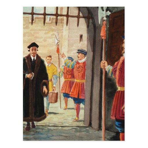 Entrar en la torre de Londres Postal