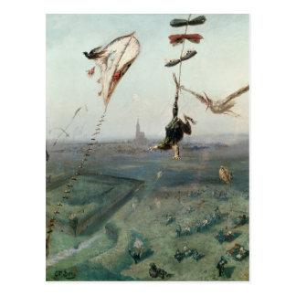 Entre el cielo y la tierra, 1862 tarjeta postal