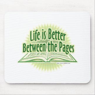 Entre el estilo verde de las páginas tapete de raton