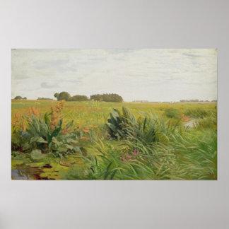 Entre Geest y el pantano, c.1880 Impresiones