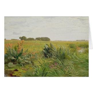 Entre Geest y el pantano, c.1880 Felicitacion