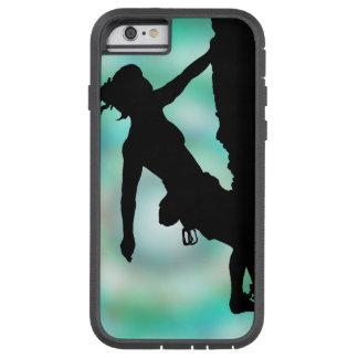 entre la roca y el caso del iPhone 6 del cielo Funda De iPhone 6 Tough Xtreme