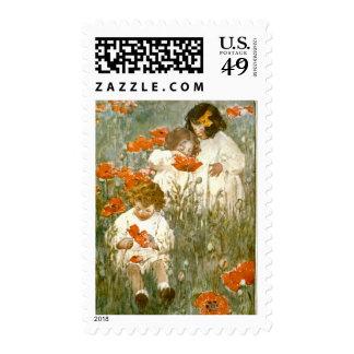 Entre las amapolas 1904 sellos