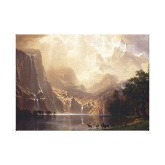 Entre las montañas de Sierra Nevada Impresión En Lona