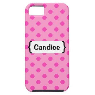 {Entre paréntesis iPhone de los lunares rosados} 5 iPhone 5 Carcasa