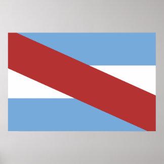 Entre Rios, bandera de la Argentina Impresiones