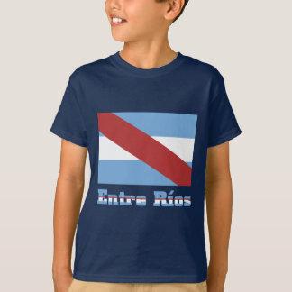 Entre Ríos flag with name T-Shirt