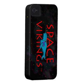 Entrega 2 del logotipo w BS del título de Vikingos iPhone 4 Protectores
