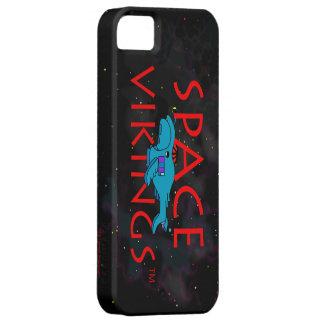 Entrega 2 del logotipo w BS del título de Vikingos iPhone 5 Carcasa