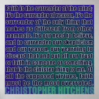 Entrega de Christopher Hitchens el   del poster de