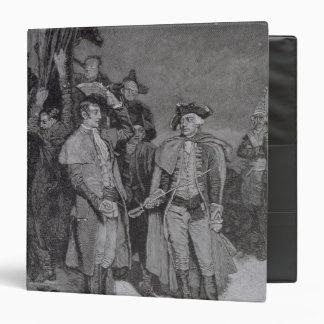 """Entrega de Fort William y de Maria Carpeta 1 1/2"""""""