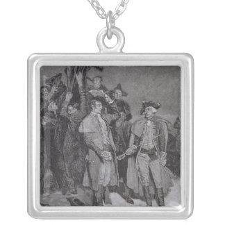 Entrega de Fort William y de Maria Collar Plateado