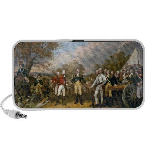 Entrega de general Burgoyne - 1822 PC Altavoces