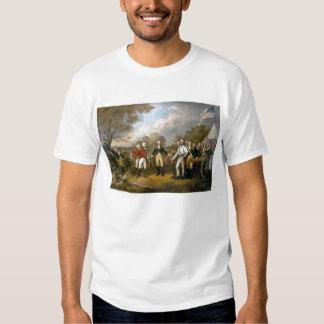 Entrega de general Burgoyne - 1822 Playeras