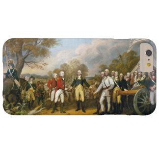 Entrega de general Burgoyne de Juan Trumbull iPhone 4 Case-Mate Fundas