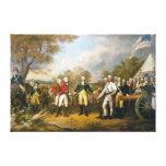 Entrega de general Burgoyne de Juan Trumbull Lienzo Envuelto Para Galerías