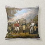 Entrega de general Burgoyne - Trumbull (1822) Almohadas
