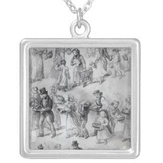 Entrega de la cena, 1841 joyería
