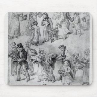 Entrega de la cena, 1841 alfombrillas de raton