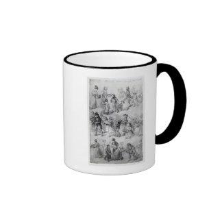 Entrega de la cena, 1841 taza