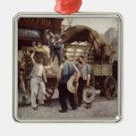 Entrega de la harina, 1885 adornos