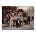 Entrega de la harina, 1885 felicitaciones