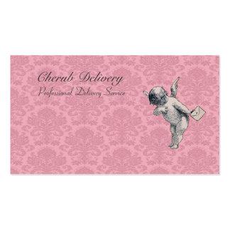 Entrega de la querube - ejemplo del vintage tarjetas de visita